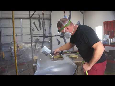 Spraying SPI epoxy