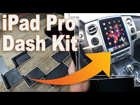 How-To Make an iPad Pro Dash Kit