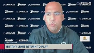 Coach Franklin discusses abnormal 2020 season and possible return of Micah Parsons