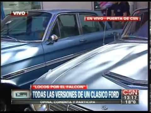 C5N - EL FINDE: TODAS LAS VERSIONES DEL FORD FALCON EN LA PUERTA DEL CANAL