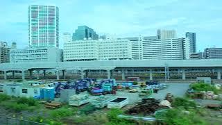 JR東日本  京浜東北線 品川駅~浜松町駅 東側車窓
