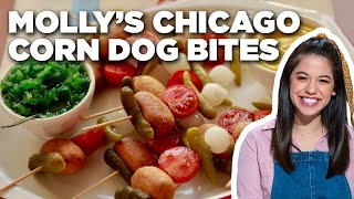 Molly Yeh's Chicago Corn Dog Bites | Girl Meets Farm | Food Network