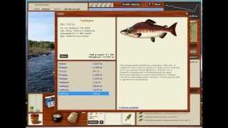 Російська Рибалка 3.8 Кола : Пороги і Перекати Горбуша , Сьомга і т. д.