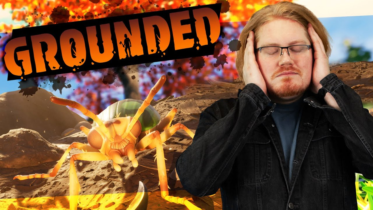 Beating a Bombardier Beetle in GROUNDED (Survival Game)