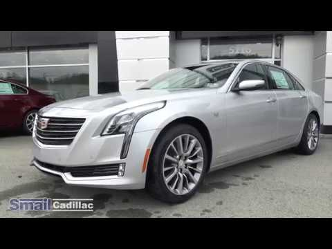2018 Cadillac Ct6 Luxury Awd At Smail Cadillac In