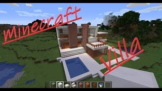Let's build an Minecraft Villa #1 Lets's Play