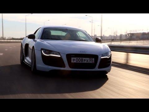 Audi R8 V10 straight pipes (pure sound)