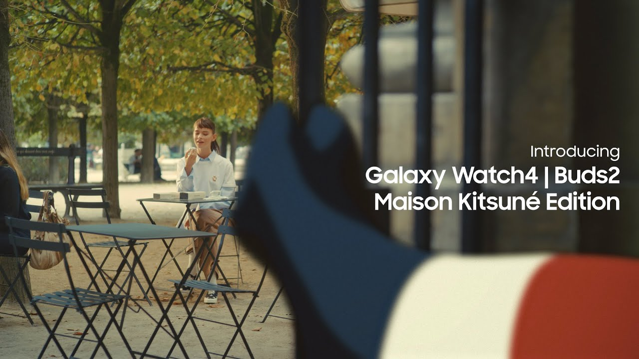 Galaxy Watch4 | Buds2 Maison Kitsuné Edition Official Film: Lifestyle Film | Samsung