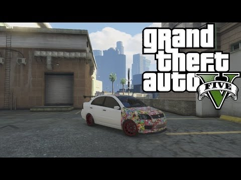 Gta 5 Online - How To Get The Sticker Bomb Car! (Declasse Asea)