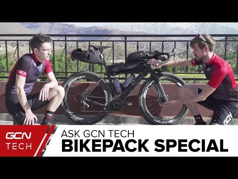 Bikepacking Equipment And Set Up Special | Ask GCN Tech