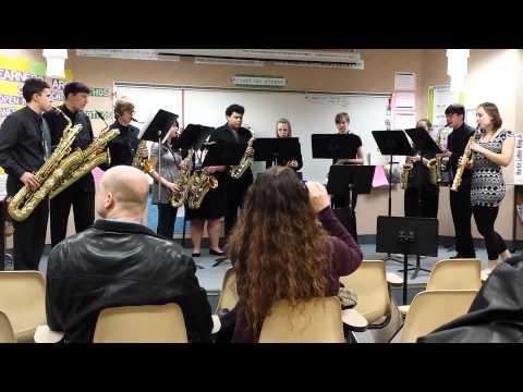 Pendleton Heights High School sax choir