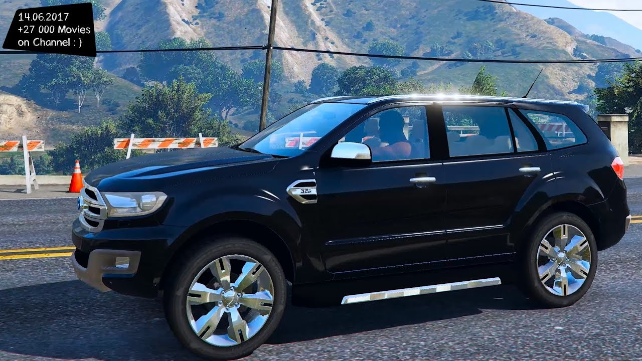Ford Everest Limited 2017 New Enb Top Speed Test Gta Mod Future