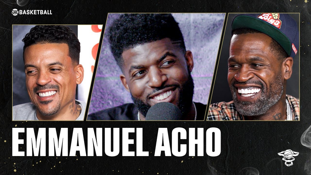 Emmanuel Acho | Ep 96 | ALL THE SMOKE Full Episode | SHOWTIME Basketball