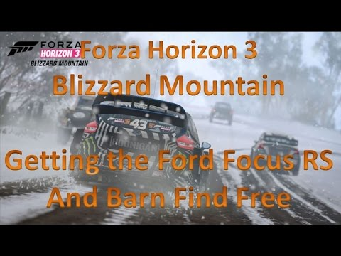 Forza horizon 3 blizzard mountain glitch how to get a for How to buy a mountain