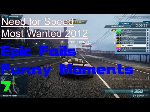 "Need for Speed Most Wanted 2012 – ""Pro Driving"" Epic Fails and Funny Moments Part 7"