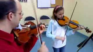 MOZART Petite Musique de Nuit au violon par MEG
