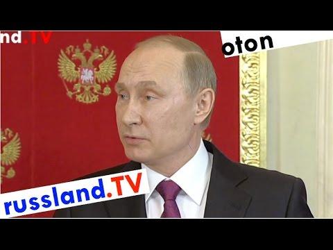 Putin zur Eskalation in Syrien auf deutsch