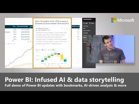 New AI-driven analytics and data storytelling in Power BI