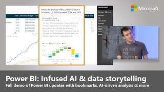 New AI-driven analytics and data storytelling in Power BI thumbnail