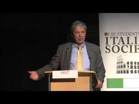 LSE Italian Forum 2015 - Keynote Speech by John Peet, Europe Editor of The Economist