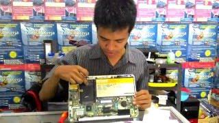 cara Membongkar Keyboard Netbook Lenovo Ideapad S206