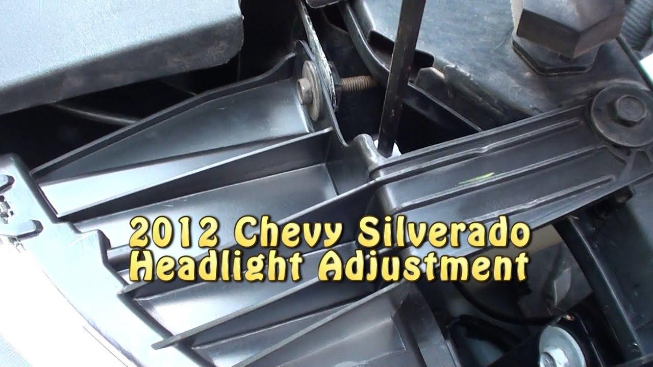 2012 chevy silverado headlight adjustment youtube 2012 chevy silverado headlight adjustment sciox Choice Image