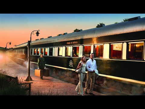Rovos Rail, the most luxurious train in the world: Pretoria