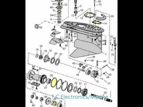 Omc stringer 800 Outdrive manual