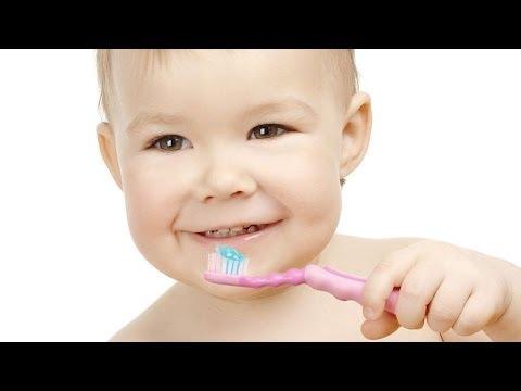 Видео как научить ребенка чистить зубы
