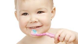 Как научить ребенка чистить зубы? Школа здоровья 19/04/2014 GuberniaTV(Лечить или нет молочные зубы? Ответ однозначный, конечно же, да! Хорошие молочные зубы - залог того, что и..., 2014-04-19T06:15:24.000Z)