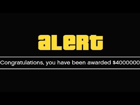 I GOT $4,000,000 FROM ROCKSTAR GAMES! (GTA 5 ONLINE)