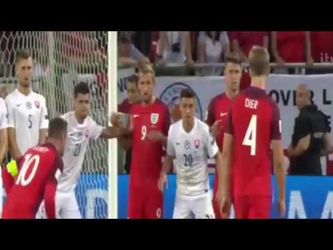 ไฮไลท์เต็ม อังกฤษ vs สโลวาเกีย (4-9-2016) ไฮไลท์ฟุตบอลฟุตบอลโลก 2018 รอบคัดเลือก โซนยุโรป