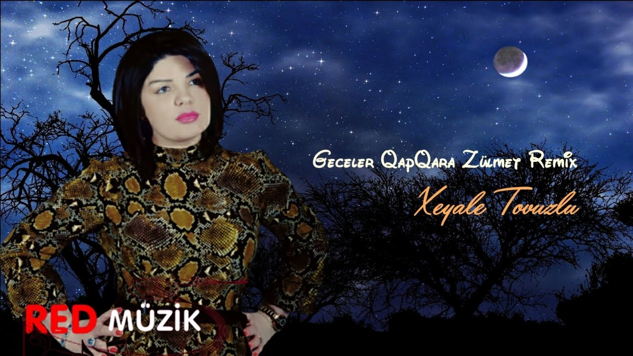 Xeyale Tovuzlu - Geceler QapQara Zulmet 2021 (REMIX Derdim)