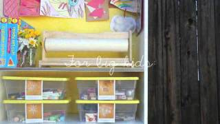 Diy Crafty Bookcase For Children