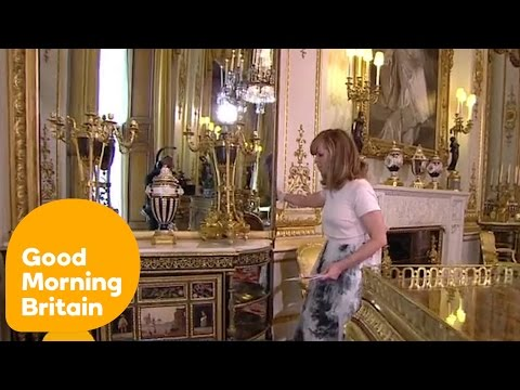 The Queen's Hidden Door - Inside Buckingham Palace | Good Mo