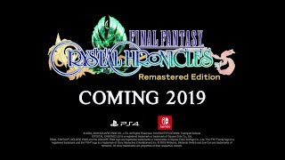 FINAL FANTASY CRYSTAL CHRONICLES Remastered Edition – Announcement trailer