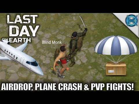 Last Day on Earth: Survival | Airdrop, Plane Crash & PvP Fights! | Let's Play Gameplay | S01E02