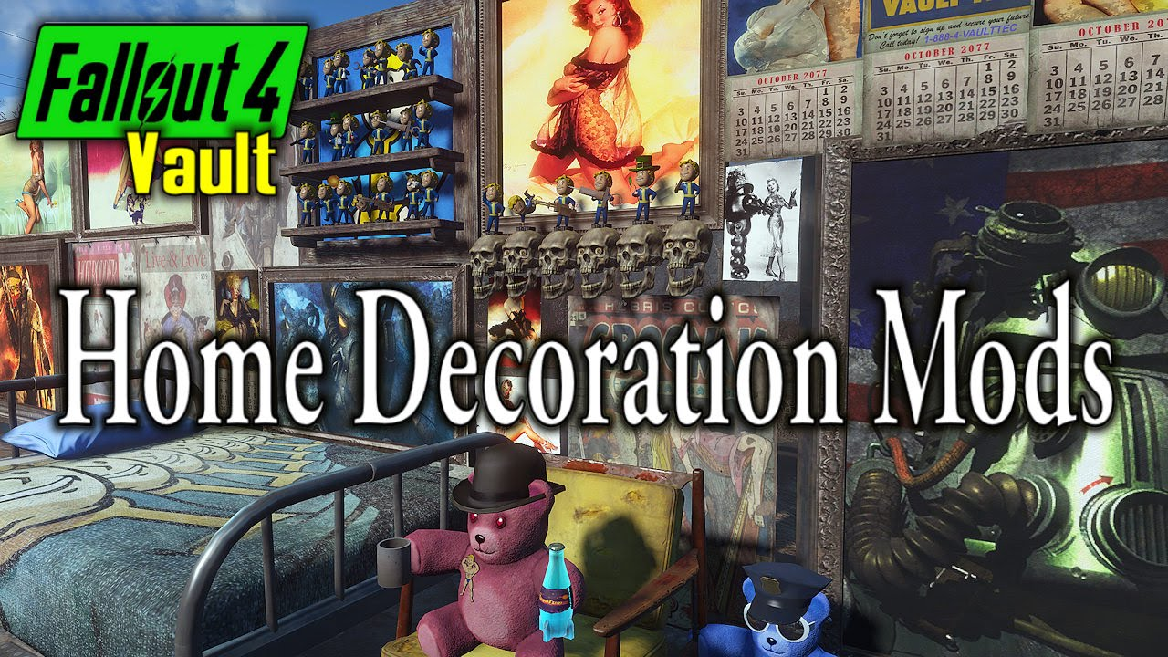 Fallout 4 Home Decoration Mods Youtube