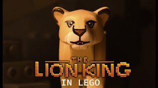 LEGO The Lion King  2019 - Official Teaser Trailer re-creation! (stop motion)