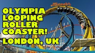 Olympia Looping London Roller Coaster Front Seat POV