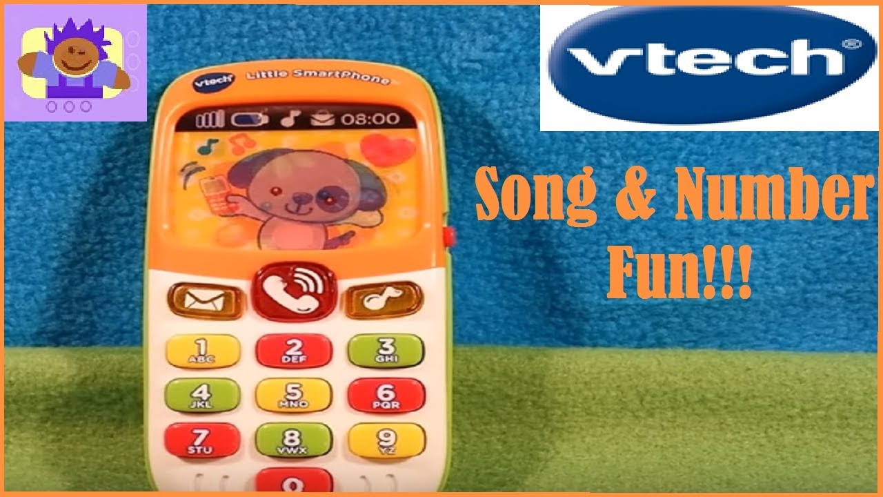 Vtech Baby My First Smartphone Smart Phone Learning Toy