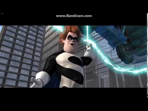 The Incredibles - Syndrome's Hero Act Attempt