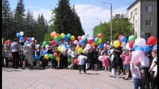 Парад 9 мая 2012г. в п. ГРЭС, Челяб. обл.