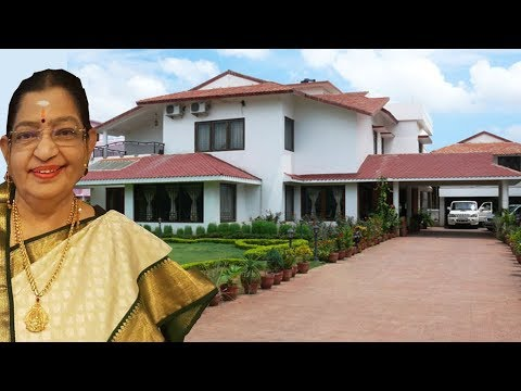 P Susheela Luxury Life | Net Worth | Salary | Cars | House | Family | Business | Biography