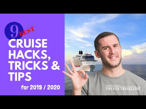 9 Top Cruise Hacks, Tricks And Tips For 2019 / 2020. How To Have An Amazing Cruise