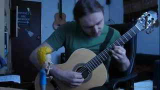 The Green Leaves of Summer - Guitar
