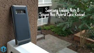 Samsung Galaxy Note 8 Spigen Neo Hybrid Herringbone Case Review!