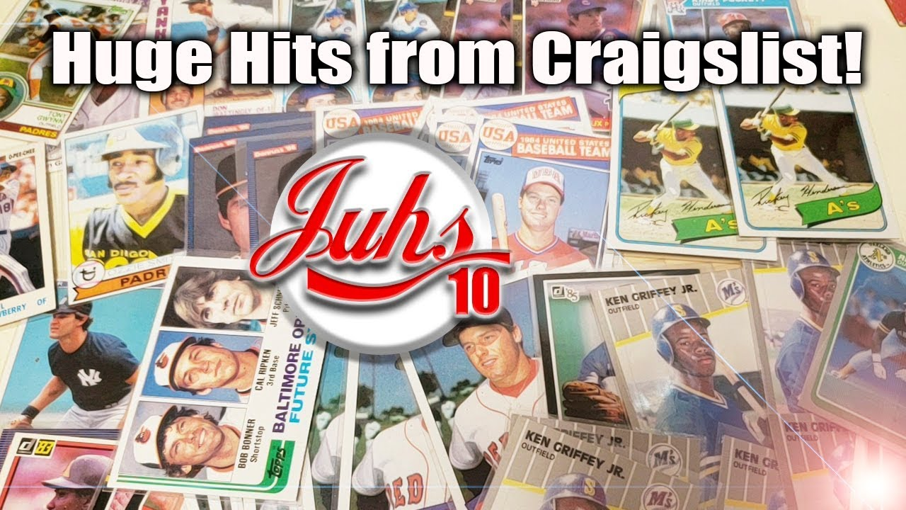 Bought A Huge Baseball Card Collection Off Craigslist