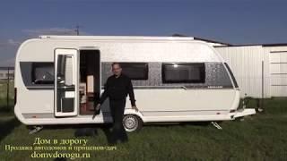 Дом на колесах с кроватью посередине спальни. Подробный видеообзор прицепа Hobby Excellent 540 Uff