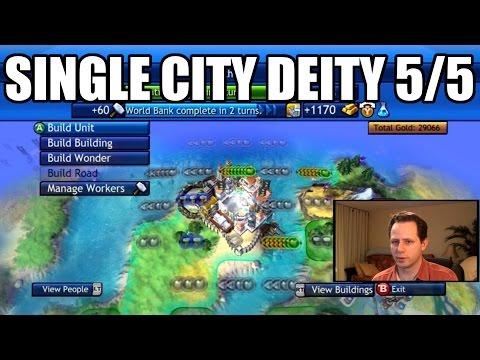 Civilization Revolution - Single City Economic Victory 1840 AD - Deity - Part 5